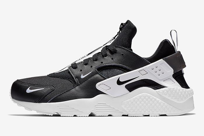 Nike Air Huarache Zip Black 2