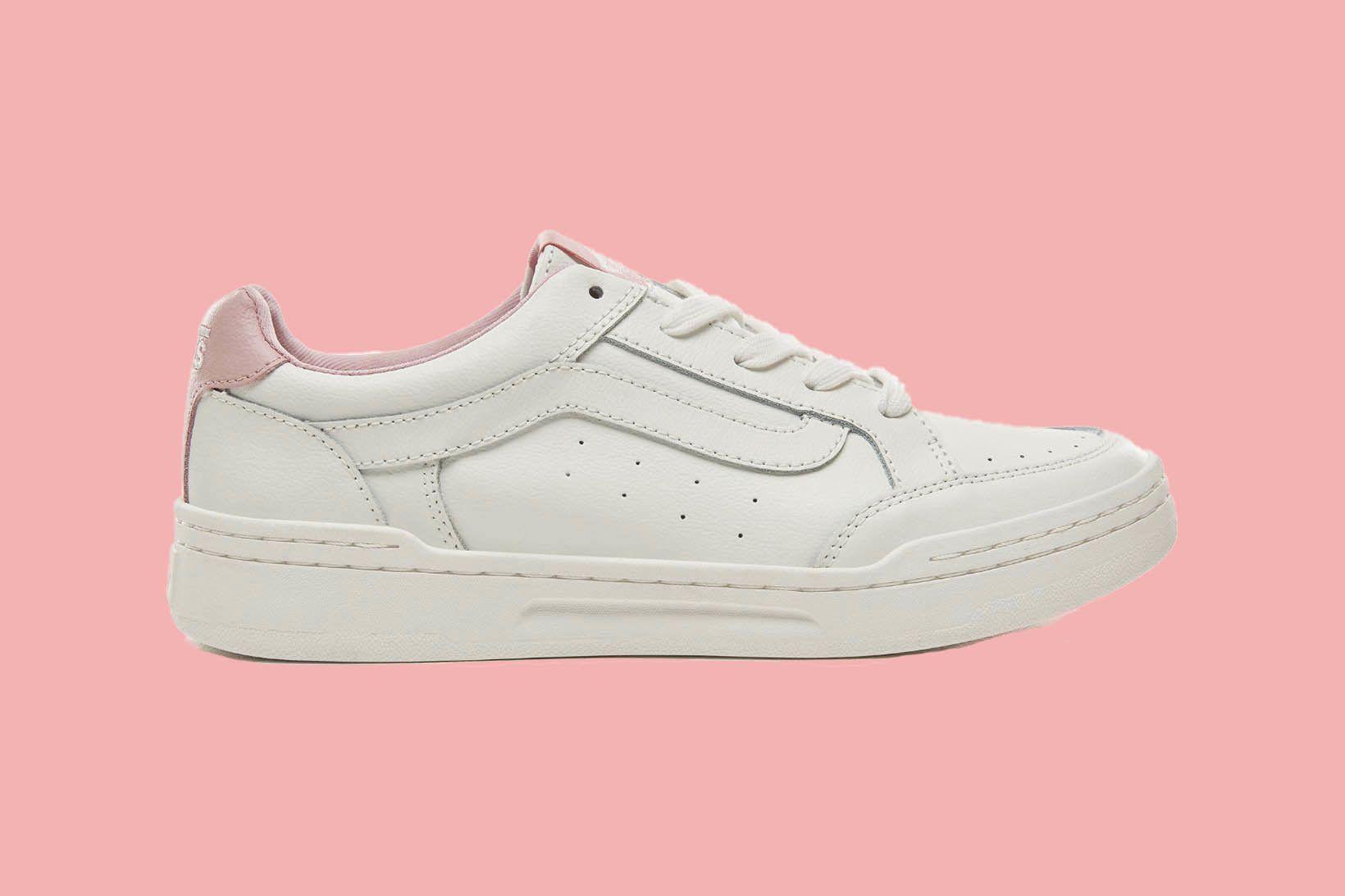 Vans Sporty Highland Pink Zephyr White Sneakers 1 1 Sneaker Freaker