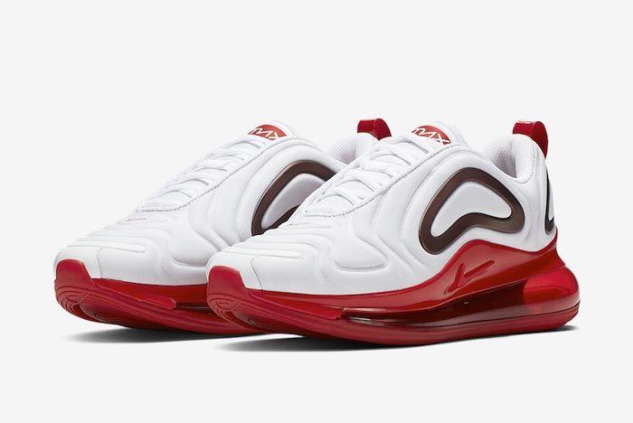 Nike Air Max 720 Womens Gym Red Pair