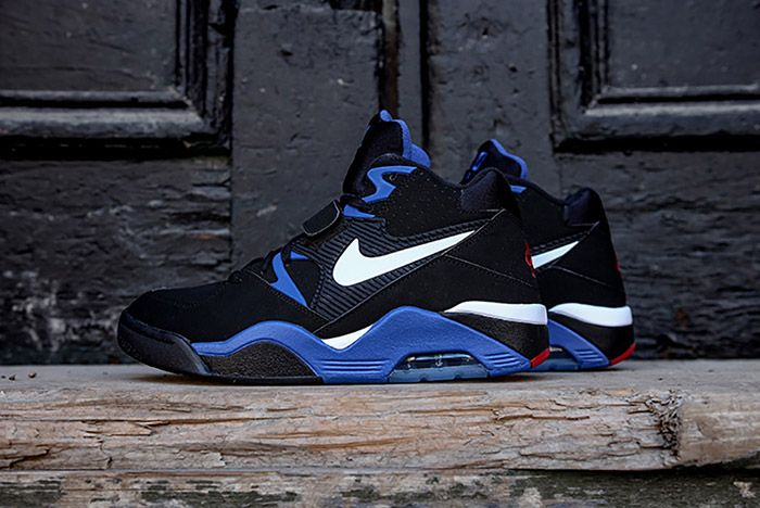 Nike Air Force 180 Black Sport Royal 6