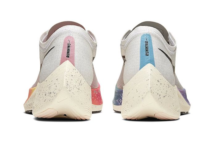 Nike Zoomx Vaporfly Next Percent Betrue White Guava Ice Black Ao4568 101 Release Date Heel