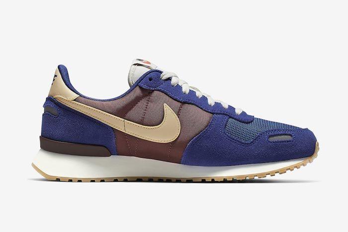 Nike Air Vortex Blue Brown Medial