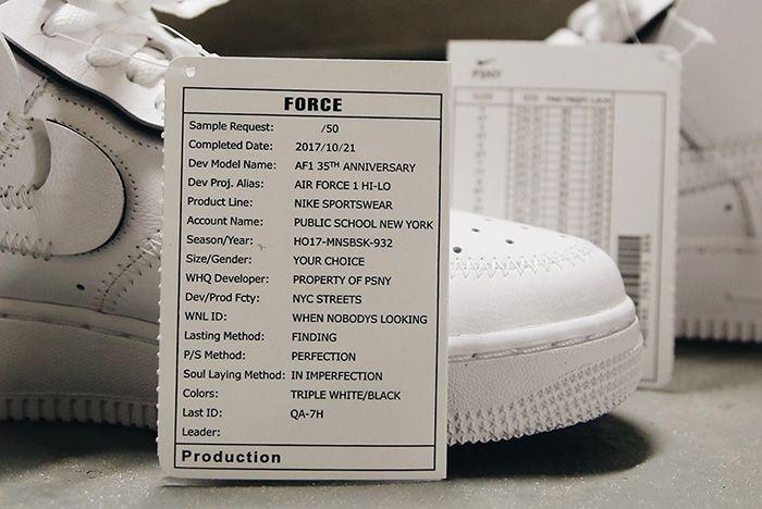 Psny Air Force 1 Release 2 Sneaker Freaker