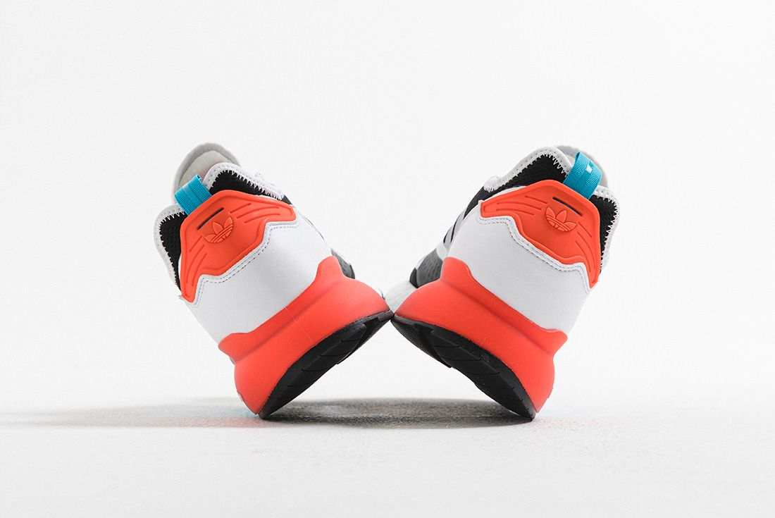 adidas ZX 2K BOOST hype dc teal orange