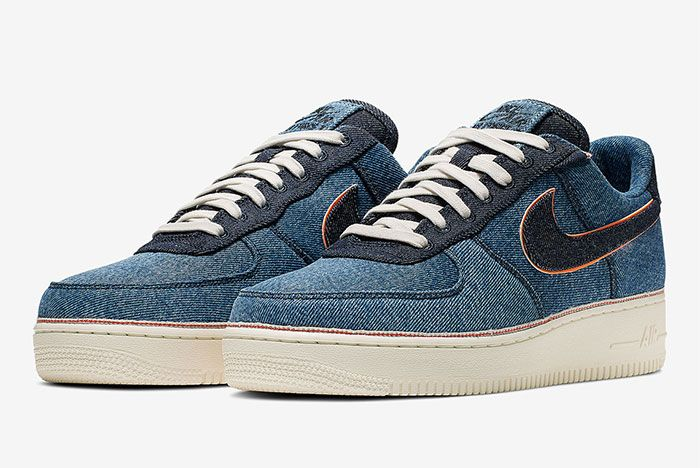 Nike Air Force 1 Denim Toe