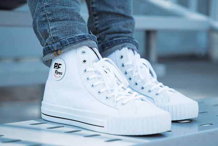Pf Flyers Made In Use Centre Hi White 4
