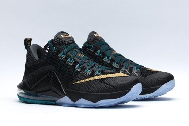 Nike Le Bron Xii Metallic Gold 6