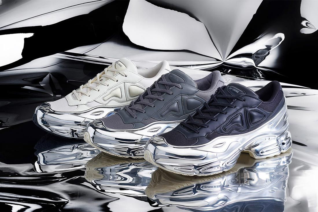 Adidas By Raf Simons Rs Ozweego Lateral Three Quarter Angle Shot