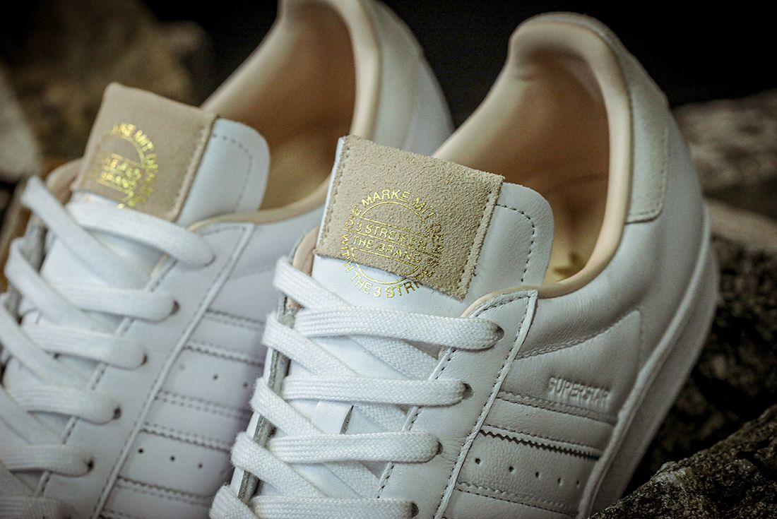 Adidas Superstar Home Of Classics Tongue Detail