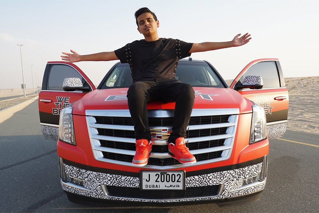 Emirati Rashed Belhasa Money Kicks Rich Money How Sneaker Freaker
