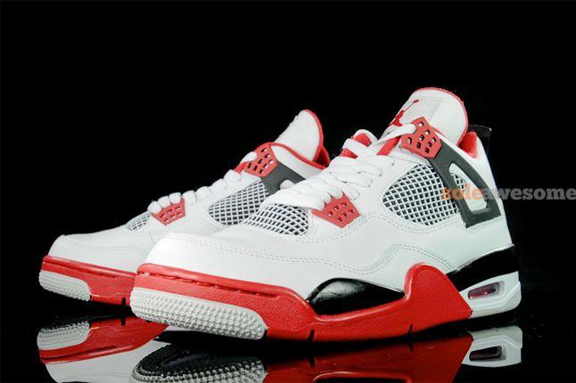 Air Jordan 4 Fire Red 2 1