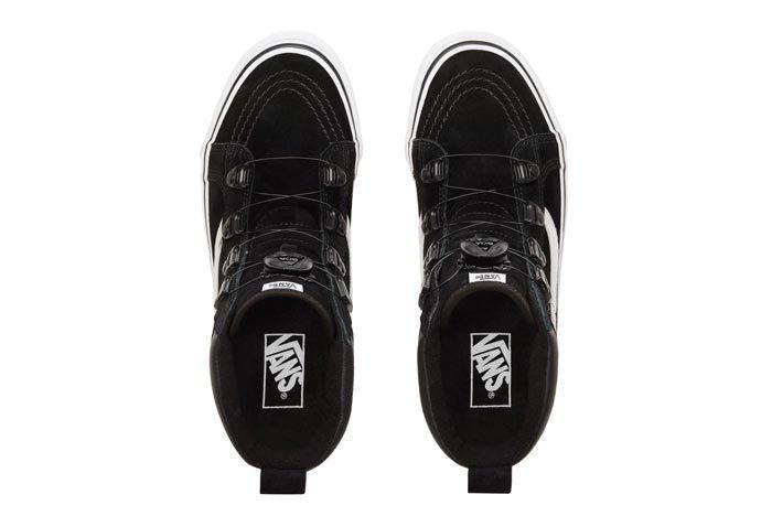 Vans Sk8 Hi Mte Boa Black White 5