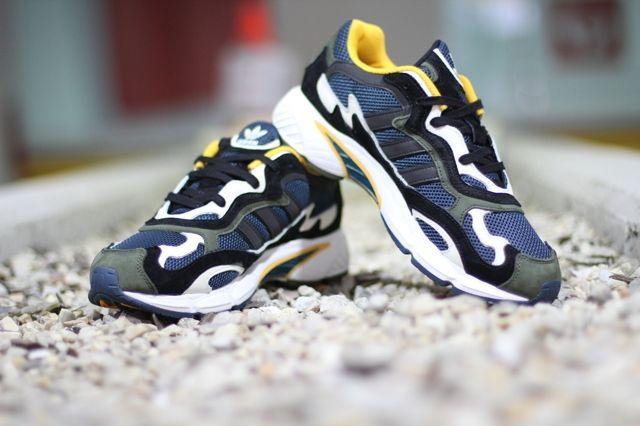 Adidas Originals Temper Run Olive Navy Sunflower 2