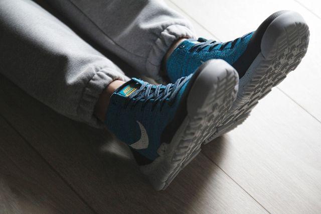 Nike Flyknit Trainer Chukka Fsb Squadron Blue 5