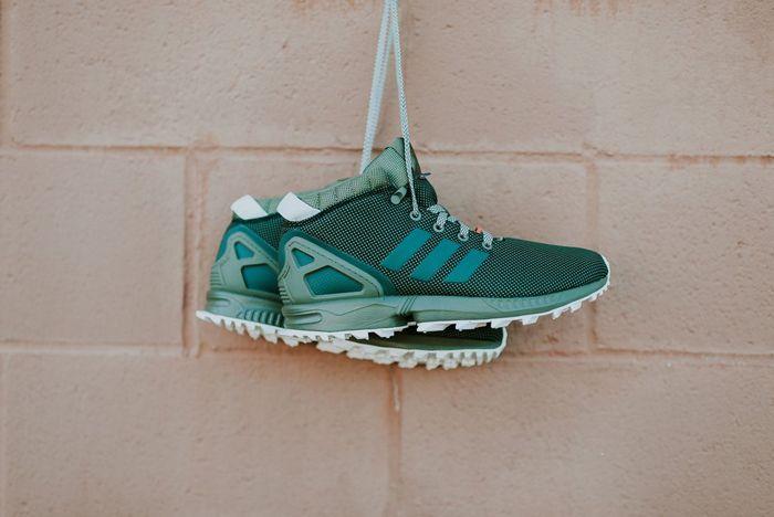 Adidas Zx Flux 58 Tr Green 6