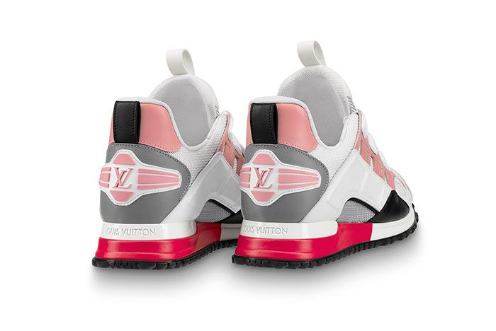 Louis Vuitton Run Away White Pink Rear Angle