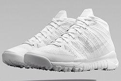 Nike Flkynit Chukka Trainer White White Thumb