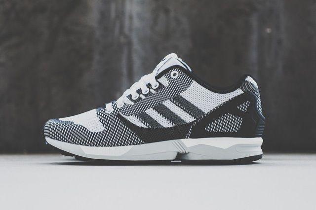 Adidas Zx Flux Weave White Black 1