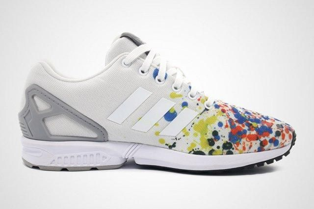 Adidas Zx Flux Splattered Toe 3