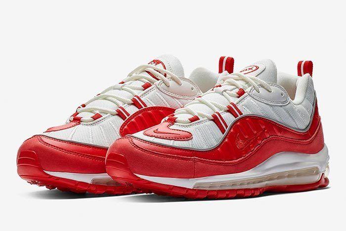 Nike Air Max 98 University Red3