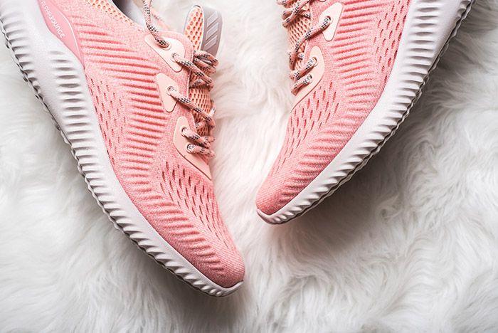 Adidas Alphabounce Pink Womens 7