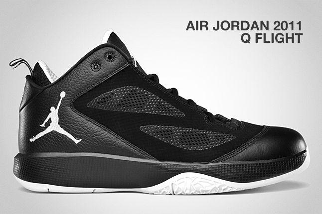 Air Jordan 2011 Q Flight Black 1