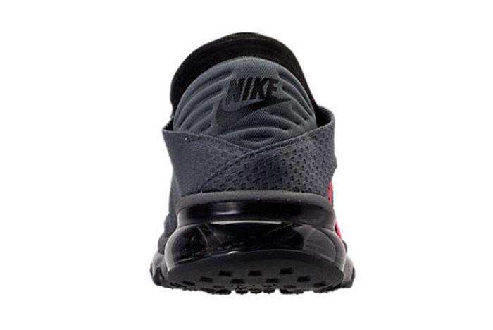 Nike Air Max Flair Cool Grey Solar Red 3