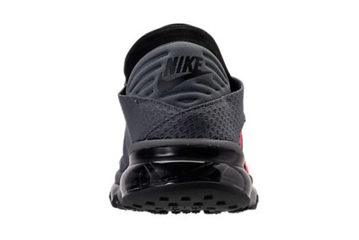 Nike Air Max Flair Cool Grey Solar Red 3