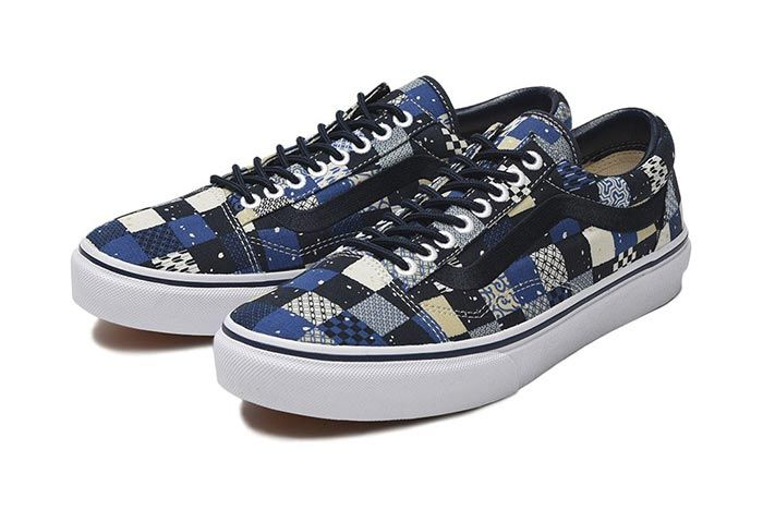 Vans Japan Fabrics Collection Old Skool Pair