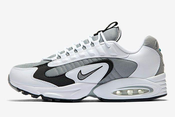 Nike Air Max Triax 96 Silver Left