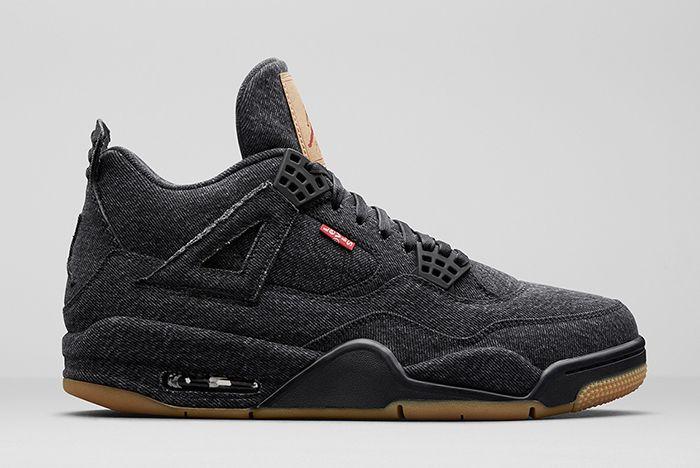 Jordan 4 Levis Black Ao2571 001 Release Date Info Sneaker Freaker