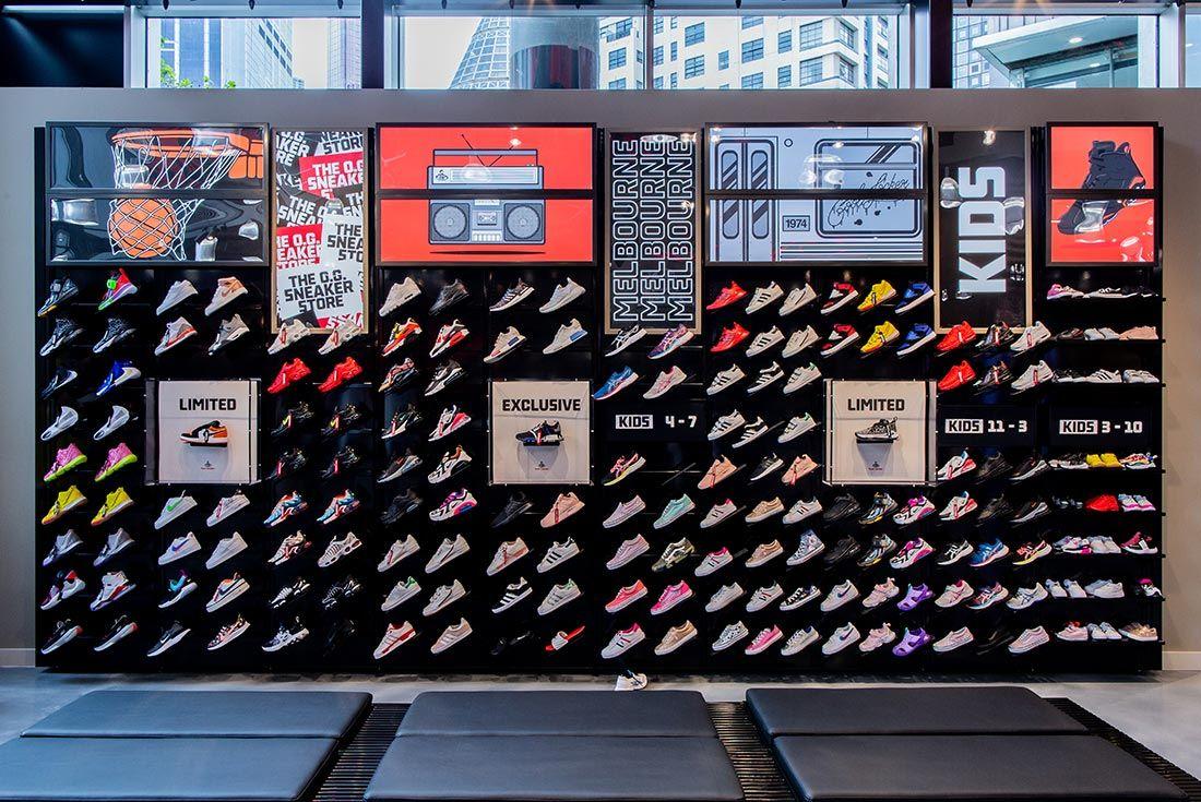 Foot Locker Qv Opening Heat Wall