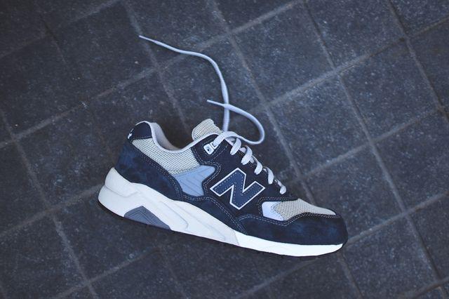 New Balance 580 Grey Navy 1