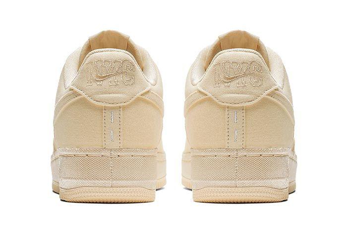 Nike Air Force 1 Muslin Desert Ore Heels