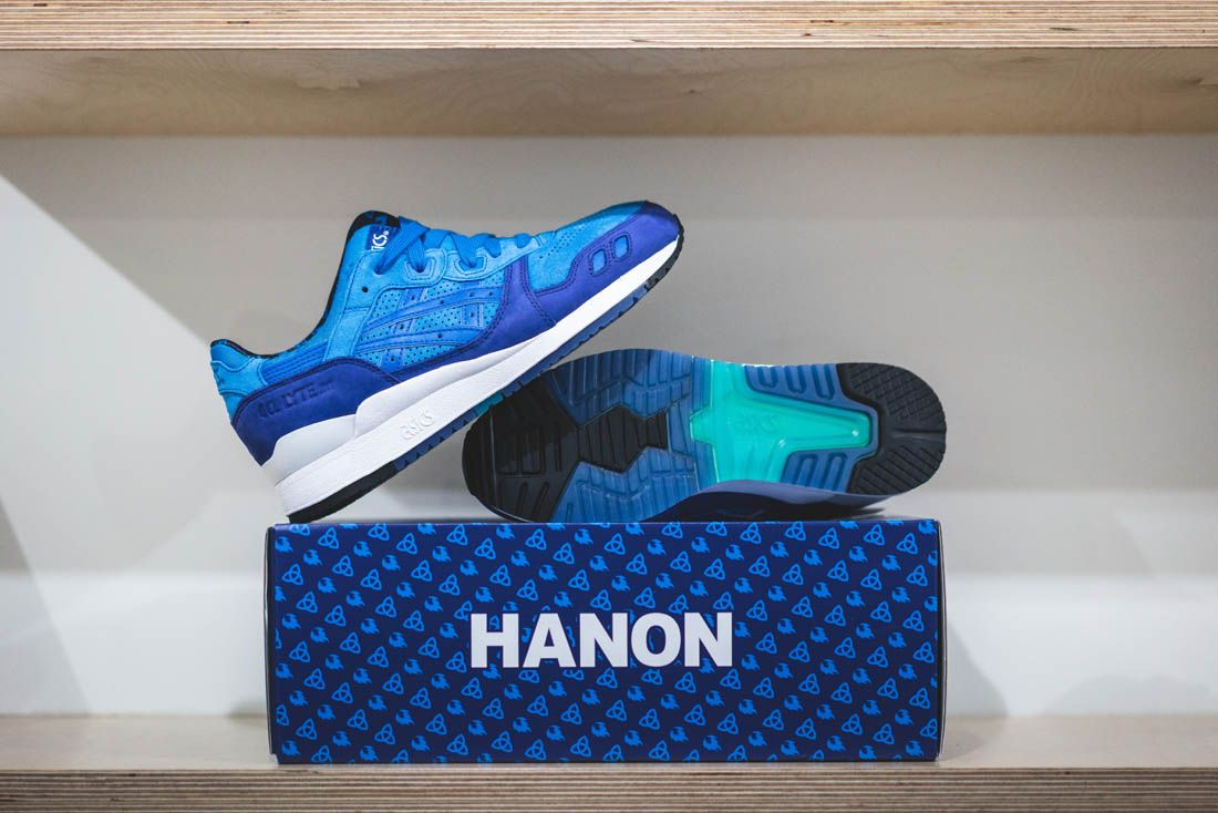 Asics Gel Lyte Iii Hanon Thomas Lindie Interview Solstice Box