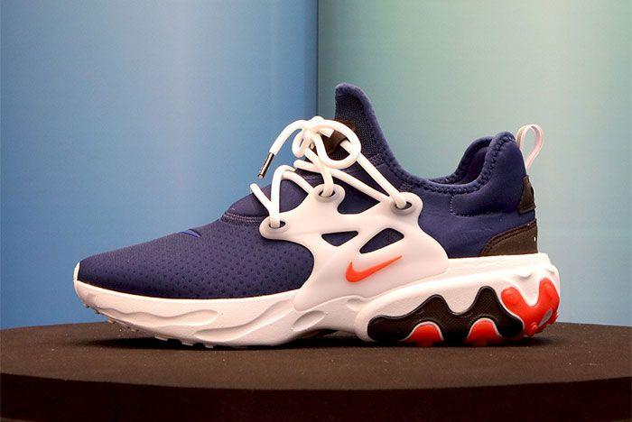 Nike React Presto Navy Orange Rabid Panda Side Shot 5