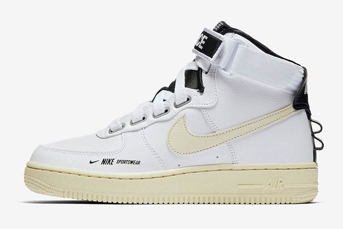 Nike Air Force 1 High Utility White Black 2