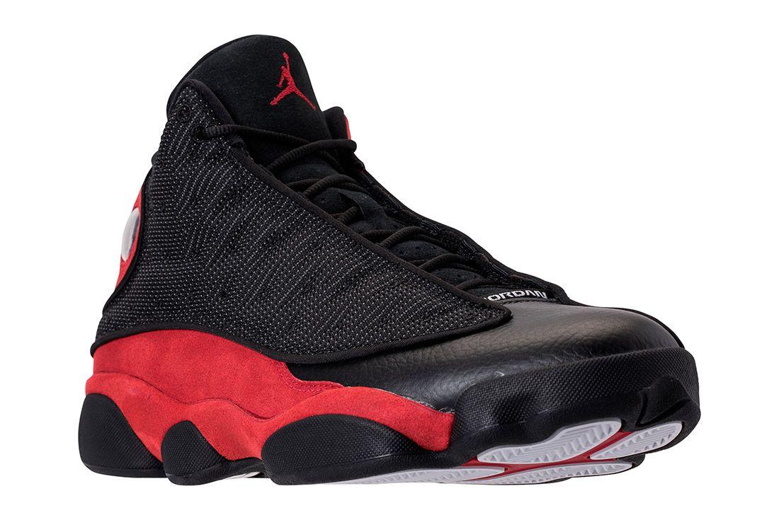 Air Jordan 13 Black Red Bred Retro 7