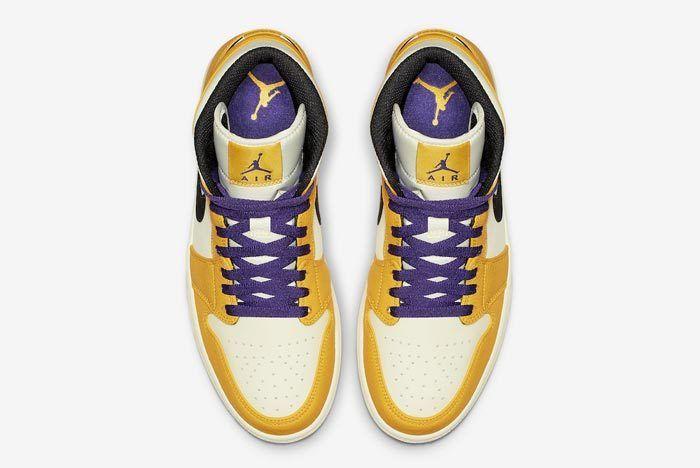 Air Jordan 1 Lakers 4