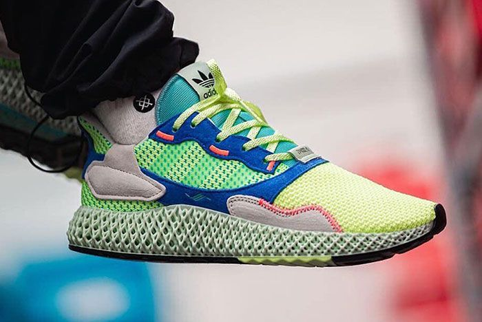 Adidas 4D Zx 4000 On Foot