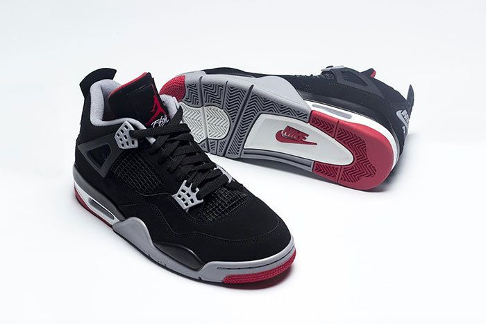 Air Jordan 4 Bred Black Red 2019 308497 060 7