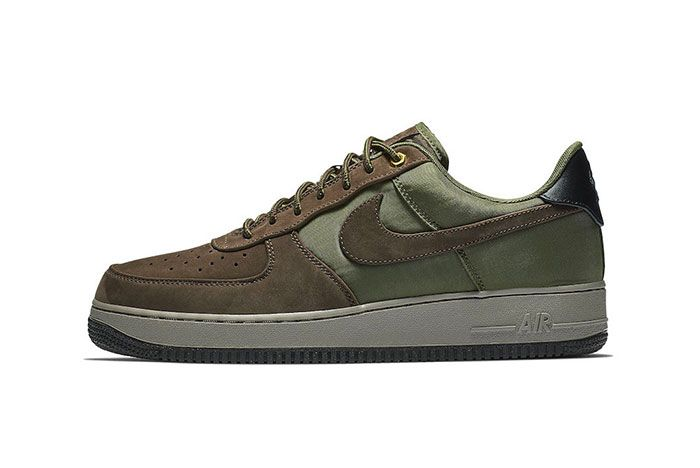 Nike Air Force 1 Premium Baroque Brown Medium Olive 001 1