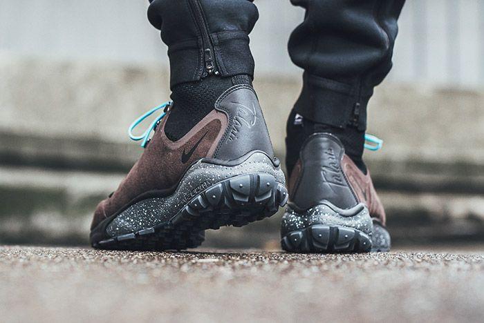 Nike Zoom Talaria Flyknit Mid On Foot 1
