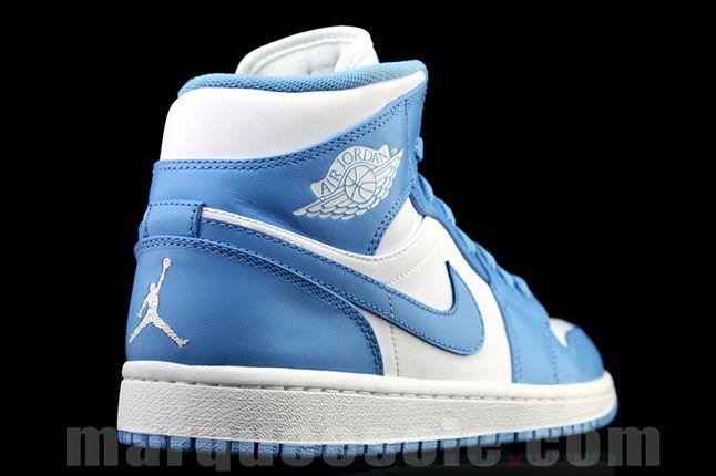 Air Jordan 1 University Blue Heel 1