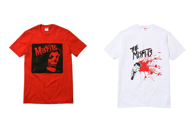 Supreme X The Misfits Collection 2013 Tees 1