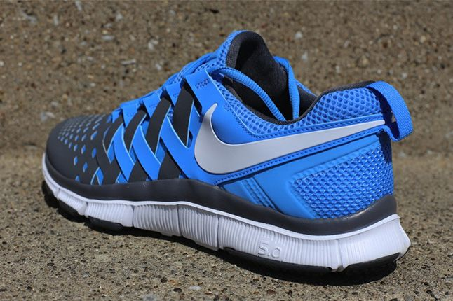 Nike Free Trainer University Blue Heel 1