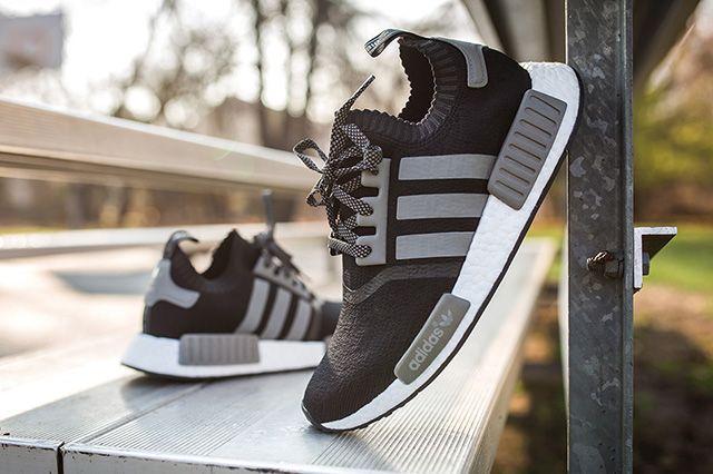 Adidas Nmd Runner Pk Black Grey 3
