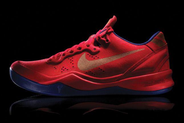 Nike Kobe 8 Ext Red Yots Profile 1