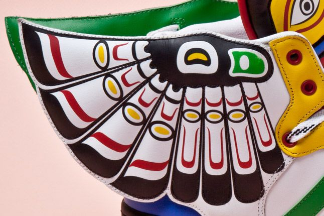 Adidas Originals Js Wings Totem Pole Detail 1
