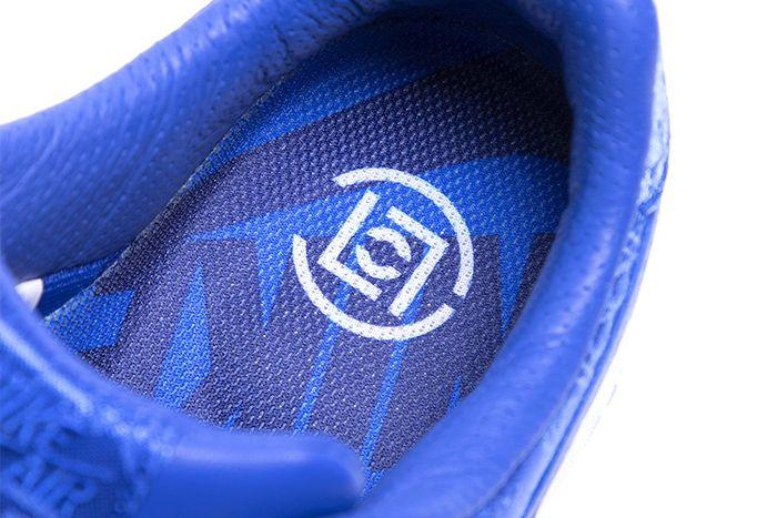 Clot Nike Air Force 1 Low Royale University Blue Silk Cj5290 400 Release Date Insole